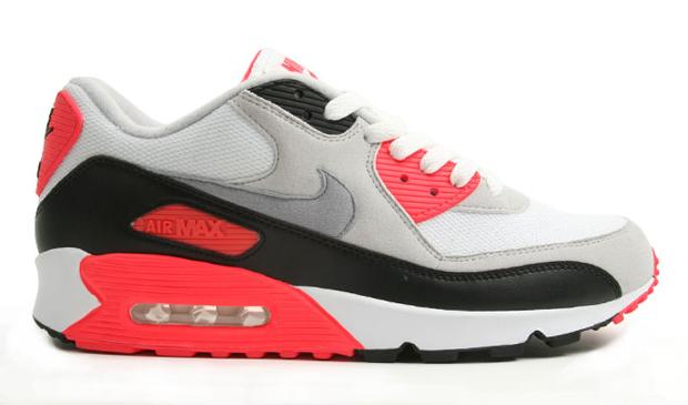 przytulnie świeże na stopach o nieźle Nike Air Max 90 Infrared (2010)