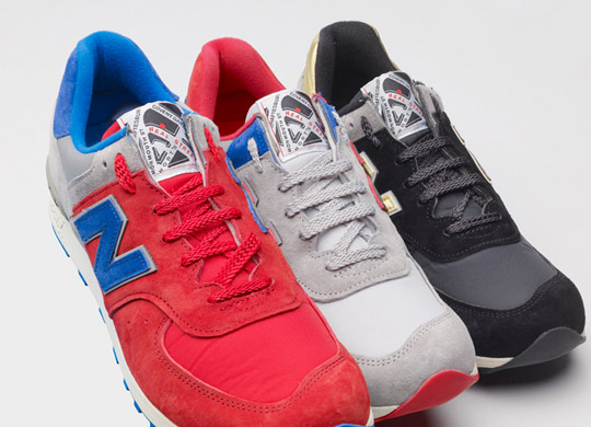UK store Offspring have teamed up with New Balance ... 138a28cb2db6