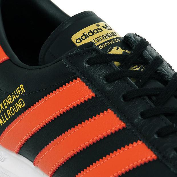 Escandaloso Consejos Intensivo  Adidas Originals Beckenbauer Allround (Black/Orange)