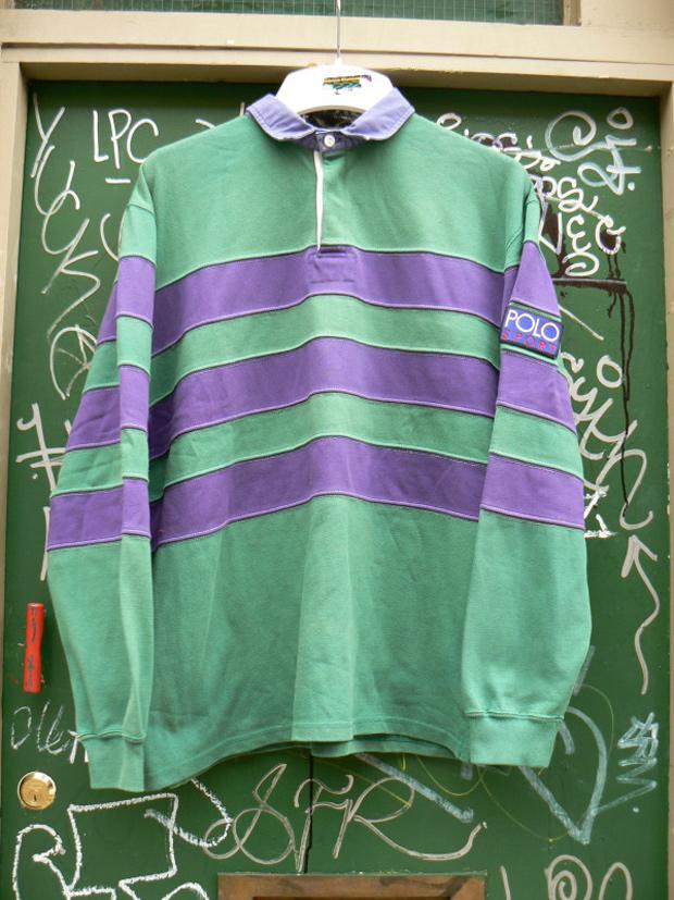 1d773584537c75 Vintage Ralph Lauren Polo Sport Rugby Shirt