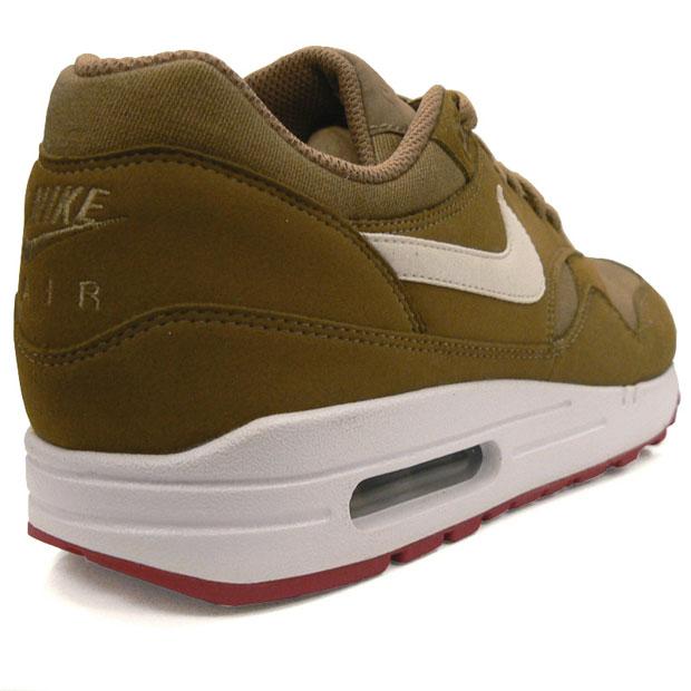 Nike Air Max 1 Brown Kelp White 01