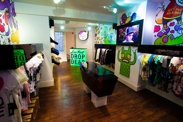 Drop dead clothing usa store