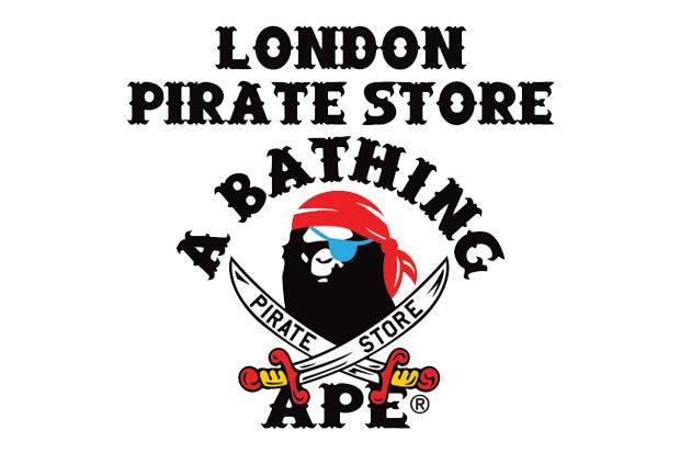 f0eb9487 Bape London Pirate Store Returns