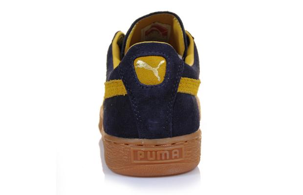f5357a4eb7c Puma Suede Classic (Navy Mustard Yellow)