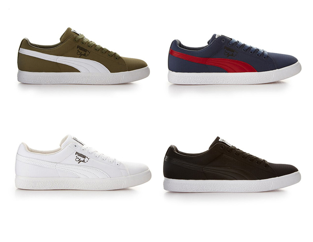 timeless design c9502 b3672 Puma x Undefeated Clyde (Ripstop)