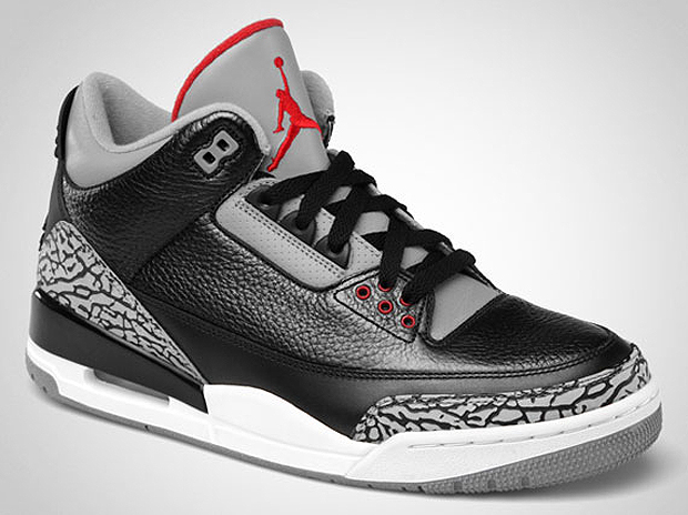 04214692ddac02 Air Jordan III Black Cement 2011 Retro