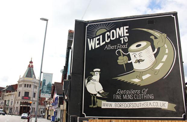Albert Road, en Portsmouth. Foto cortesía de The Daily Street.