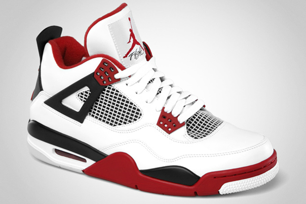 a7da5be8c30 Nike Air Jordan 4 2012 Retro (White Fire Red)