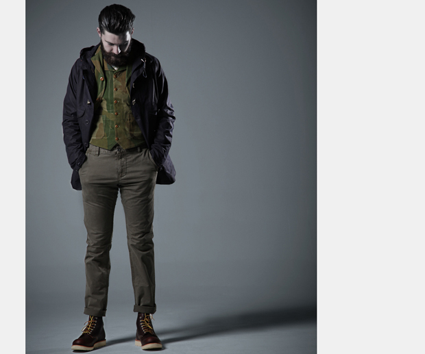 Nigel Cabourn Spring Summer 2013 shot by End Clothing 09