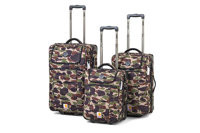 Carhartt WIP x UDG Camo Island Print Luggage 01