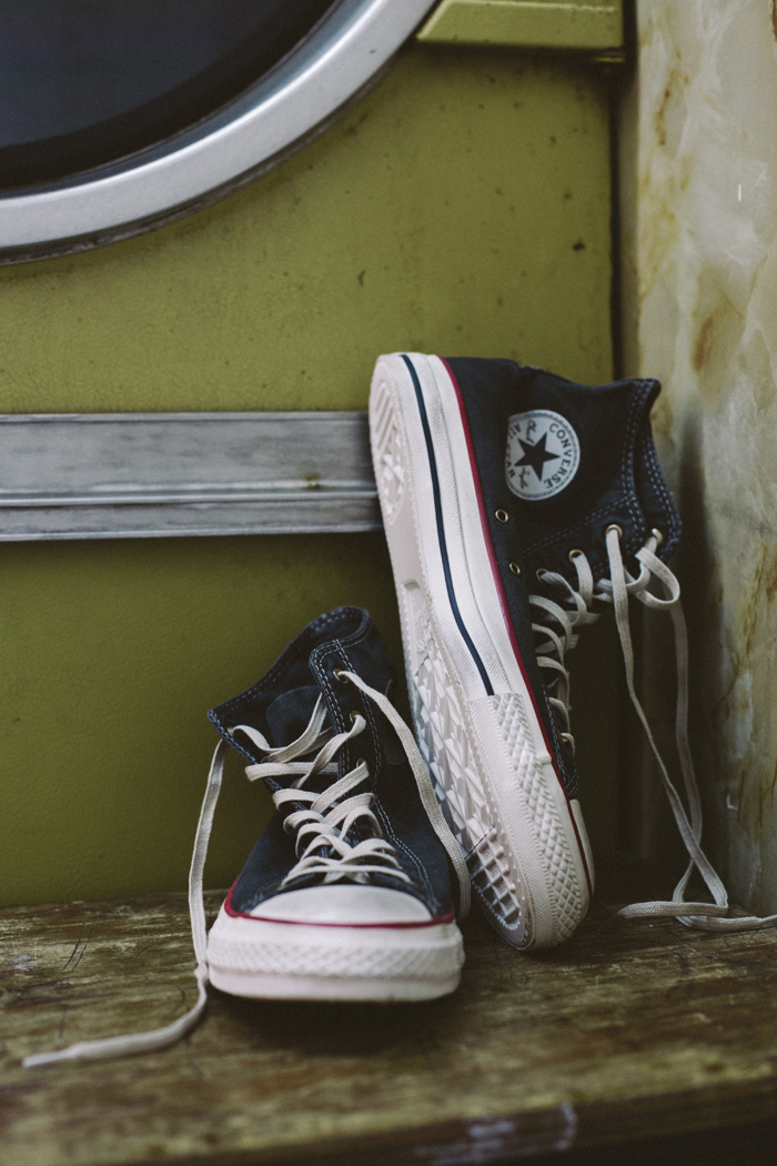 Converse Well Worn Collection black shot by The Daily Street 01