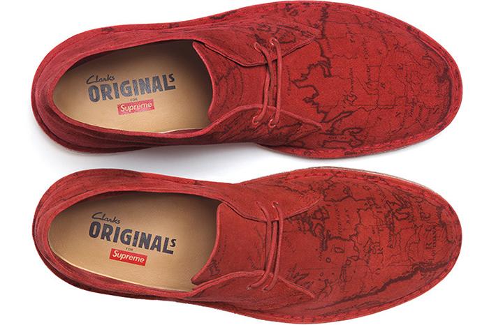 4eb1300f52dcb1 ... Supreme x Clarks Originals Map Suede Desert Boots 06
