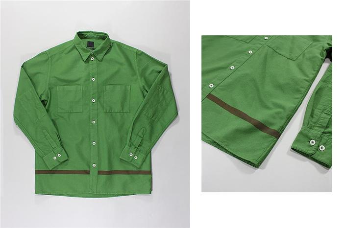 Albam Straight Hem Shirts 02