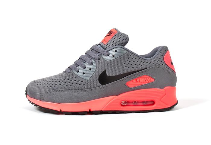 Nike Air Max 90 EM Premium Comfort (Atomic Red & Blue)