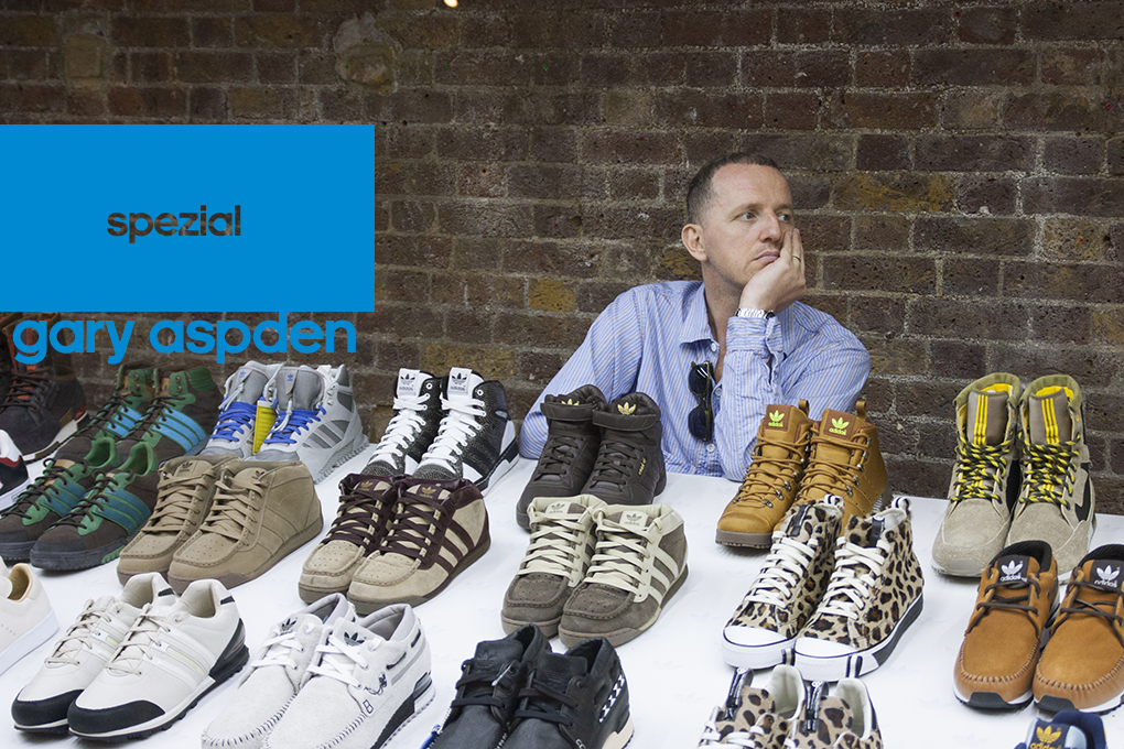 Gary Aspden talks about adidas and his recent Spezial exhibition The Daily Street 01