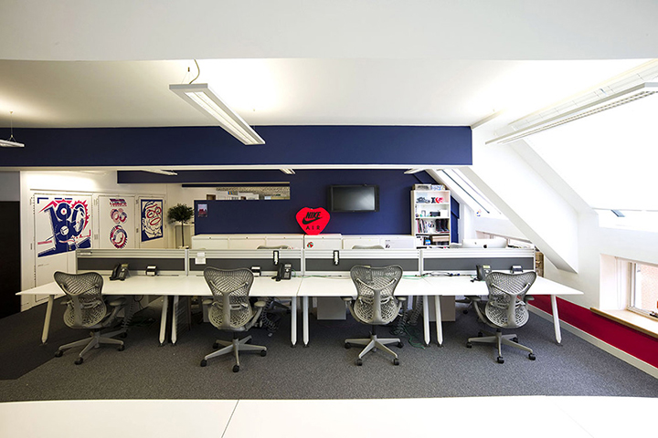 Nike redesigns UK headquarters 12