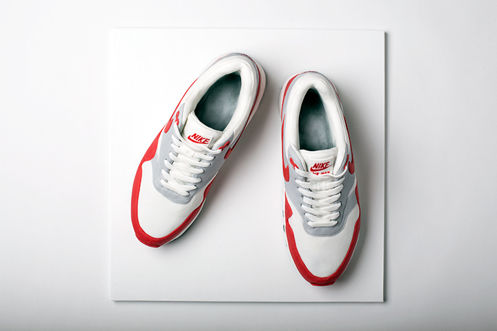 hot sale online 8a7d0 2b3d3 ... Nike Air Max 1 OG Red cake Michelle Wibowo The Daily Street 007 ...