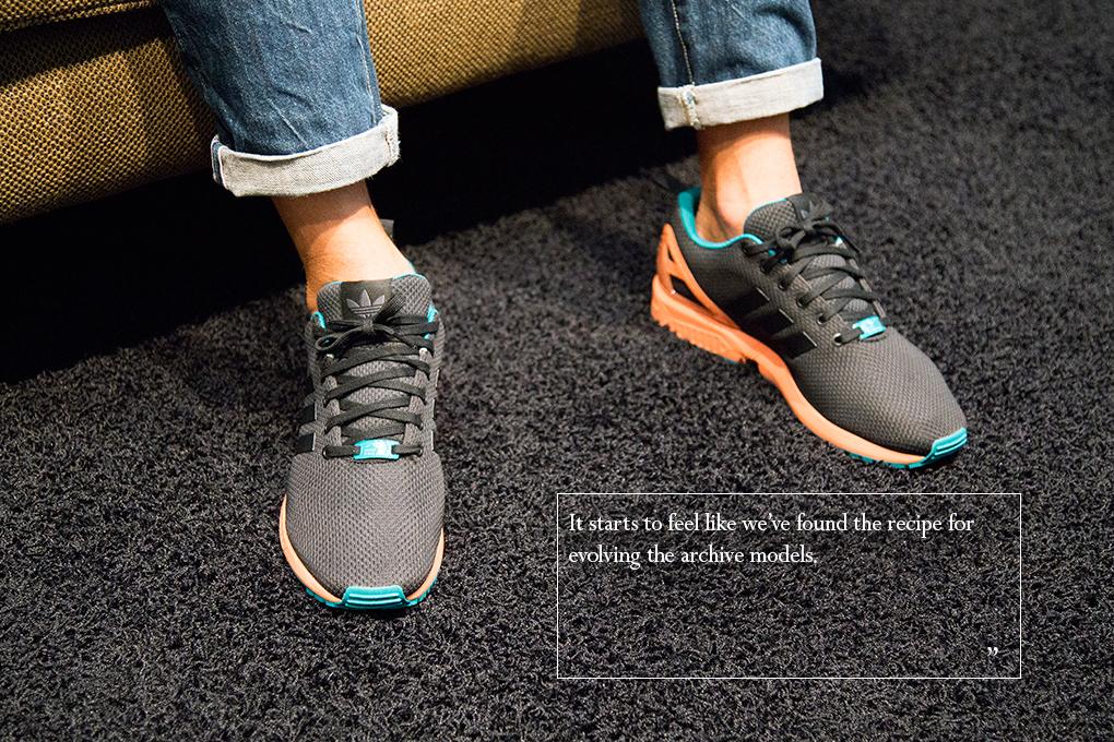 adidas Originals ZX Flux designer interview Sam Handy Torben Schumacher The Daily Street 005