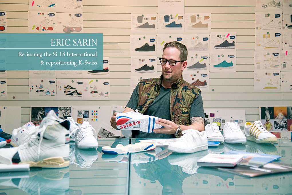 Interview Eric Sarin K-Swiss talks Si-18 International OG The Daily Street 01
