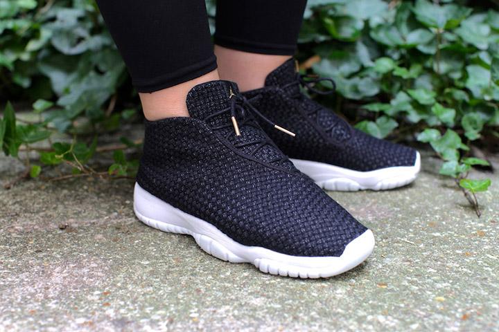 size 40 dc9dc 7ab47 Nike Air Jordan Future Black White 01