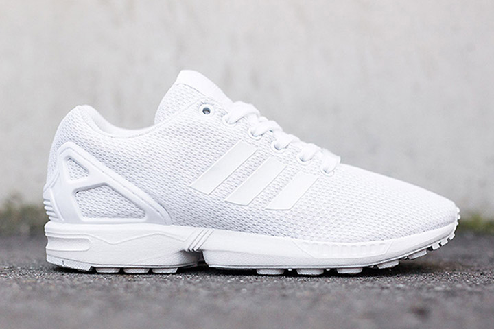 new styles 143d4 ac343 adidas Originals ZX Flux 'Triple White'