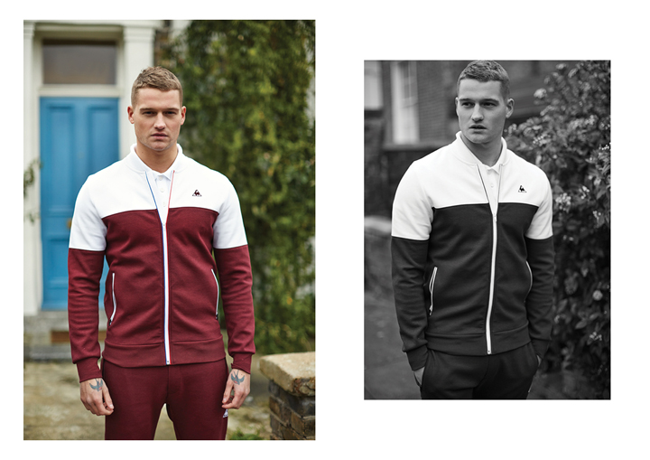 Le Coq Sportif SS15 Tricolor Collection lookbook The Daily Street 05