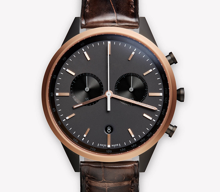 Uniform Wares Rose Gold collection 02