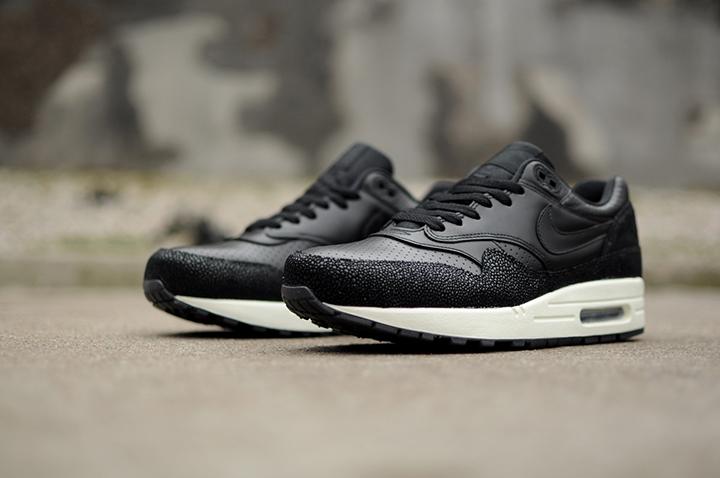 Nike Air Max 1 Leather PA 'Stingray' (Black)