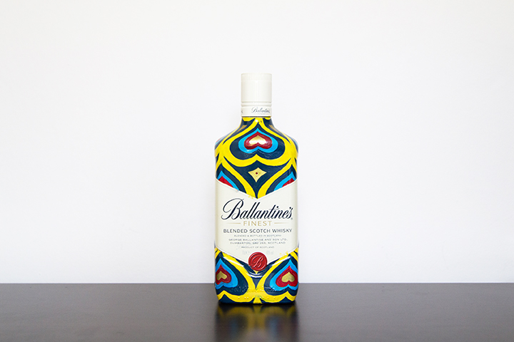 Competition-Ballantines-Insa-hand-painted-bottle-The-Daily-Street-3