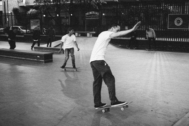 Primitive skateboards London demo BaySixyty6 The Daily Street 09