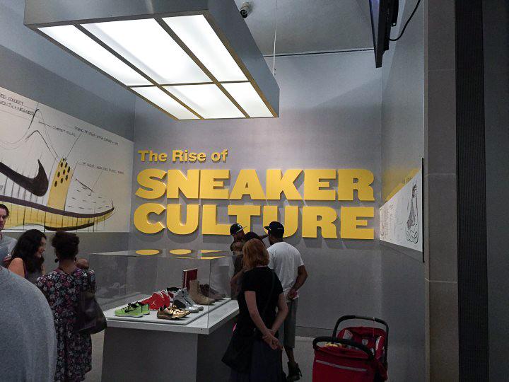 Recap   The Rise of Sneaker Culture  exhibition in New York c959e5fea