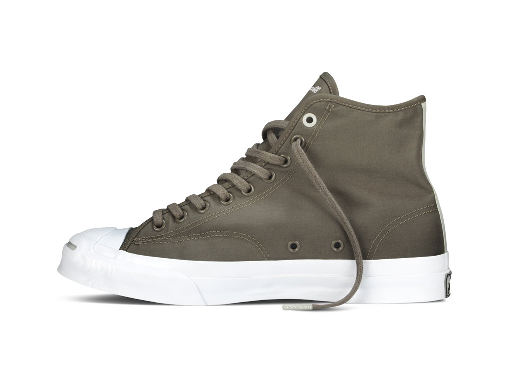 Hancock Vulcanised Articles Converse First String Jack Purcell Signature Hi 08