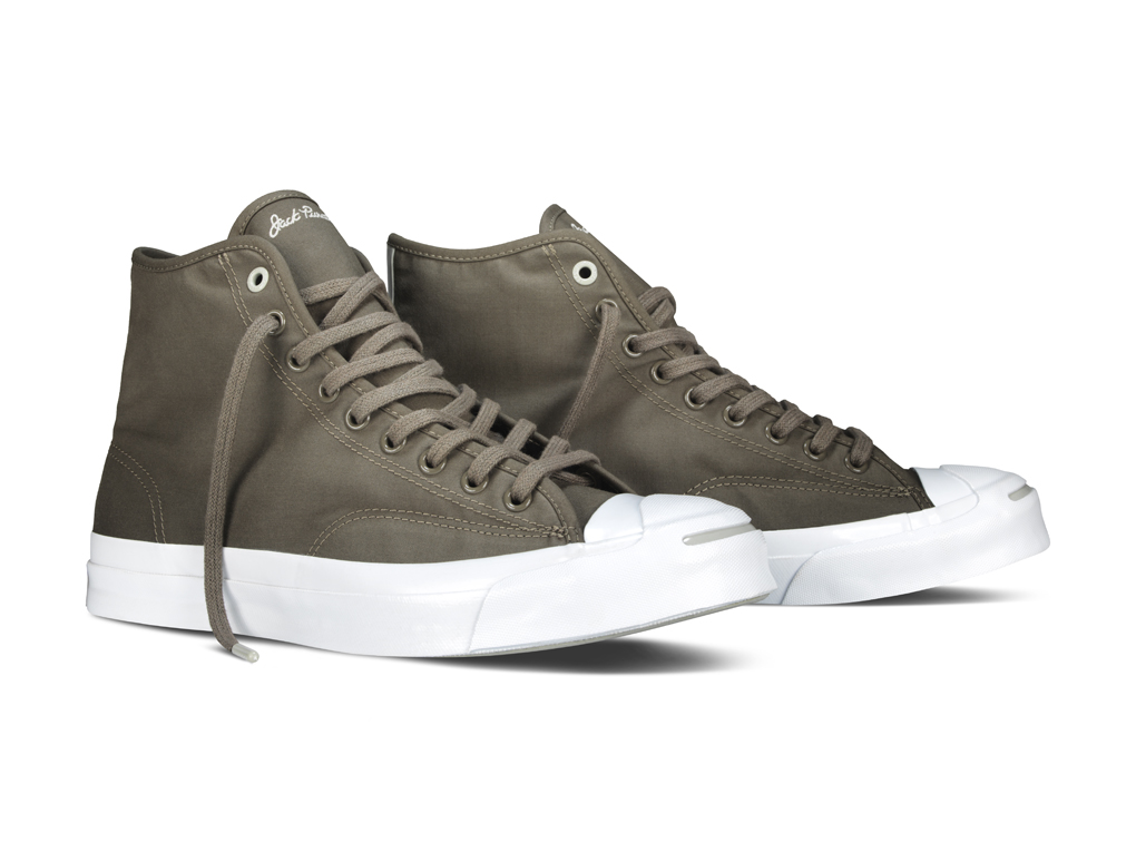 Hancock Vulcanised Articles Converse First String Jack Purcell Signature Hi 09