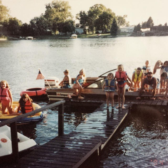 The Golden Lake Days of Childhood