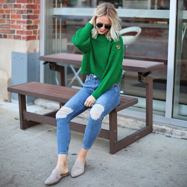 Thanksgiving Day Outfit Ideas- Sweaters AND Joggers!