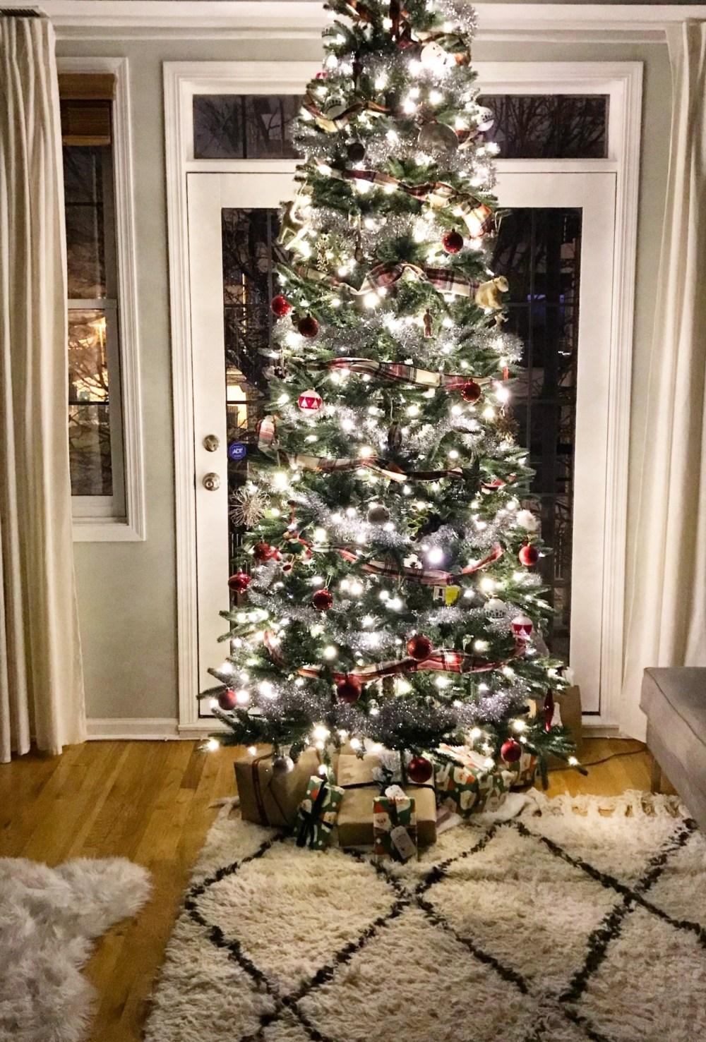The Glow of My Christmas Tree