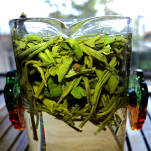 Eastern Green Tea Brewing technique
