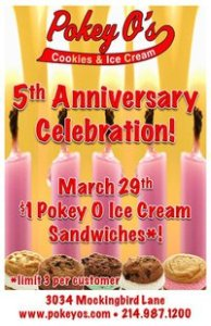 Pokey O's 5th Anniversary