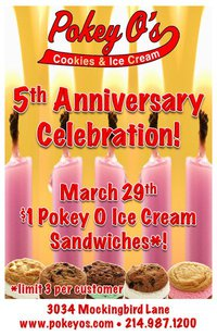 Pokey O's 5th Anniversary
