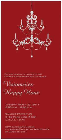 American Foundation for the Blind Happy Hour