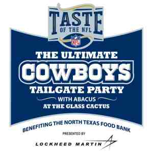 Taste of the NFL: The Ultimate Cowboys Tailgate Party