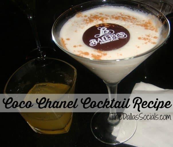 The Coco Chanel Cocktail Recipe