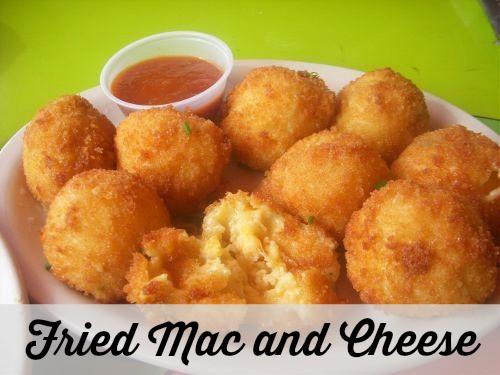 Fried Mac and Cheese Ball Recipe