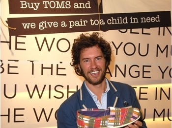 Meet Blake Mycoskie – TOMS founder