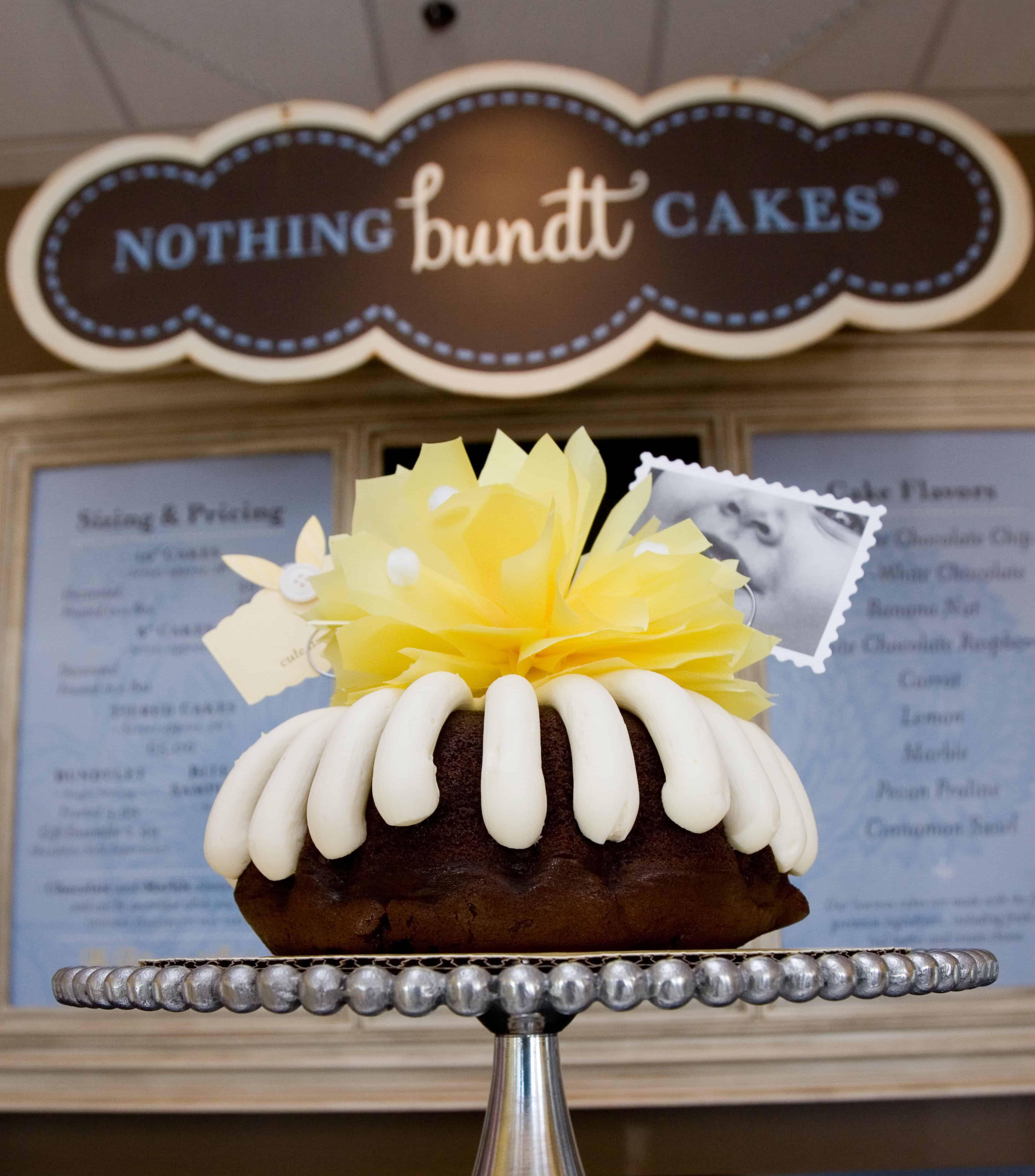 Nothing Bundt Cakes Cinnamon Swirl Ingredients