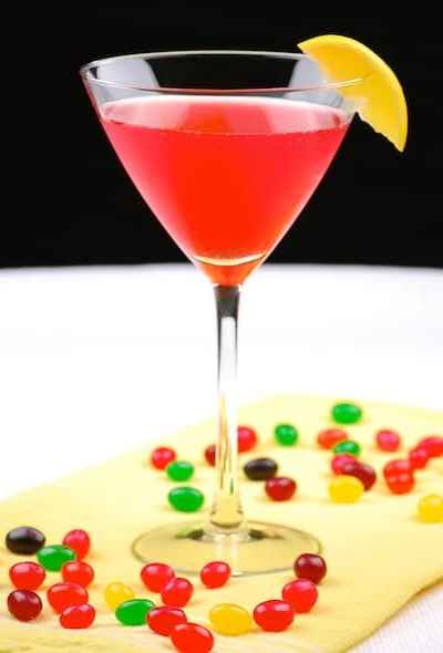Thirsty Thursday: Sparkling Jelly Bean Martini