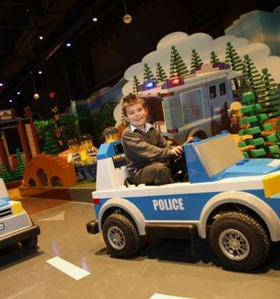 New Interactive Ride at Legoland