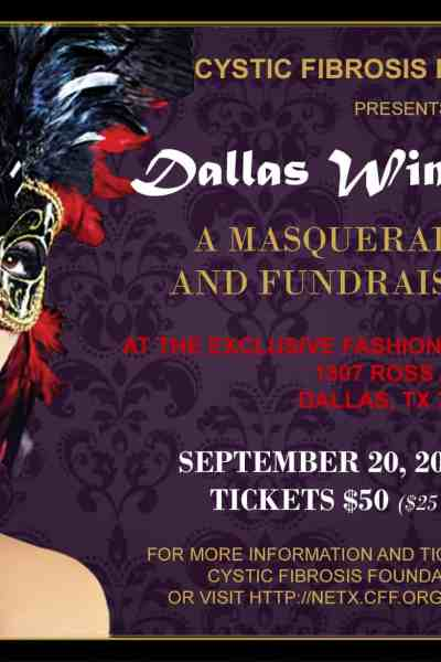 Dallas Wine Opener: A Masquerade Party and Fundraiser