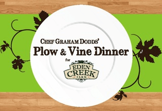 Rescheduled: Chef Graham Dodds' Plow & Vine Dinner