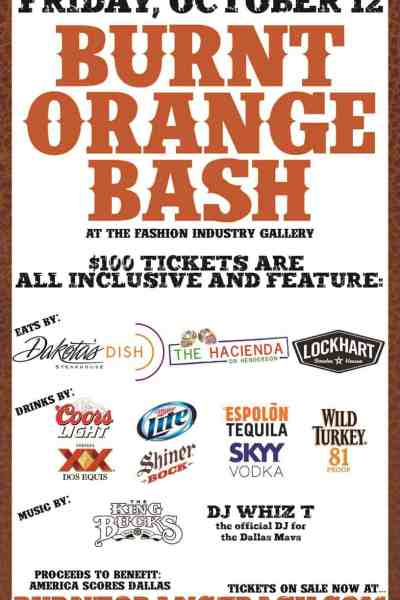TX/OU Burnt Orange Bash